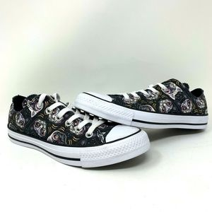 Converse All Star Low 'Sugar Cats' Canvas Sneakers